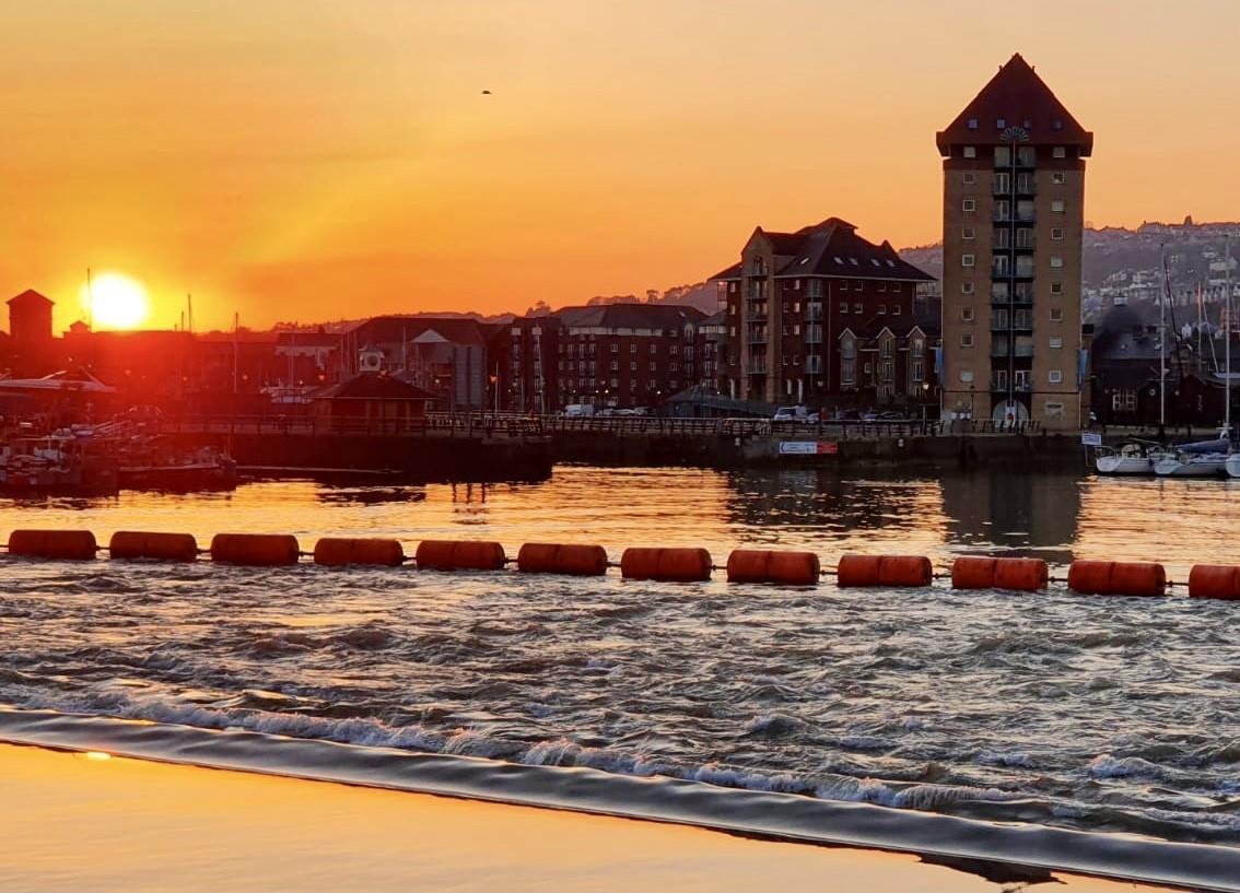 Pocketts Wharf, Marina, Swansea
